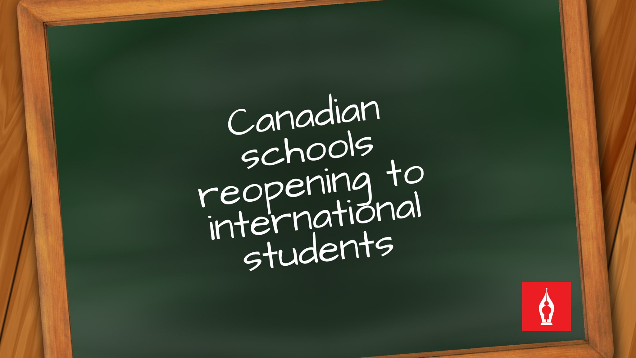 Canadian schools reopening to international students